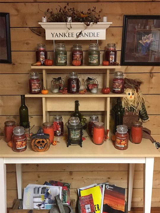 Yankee Candles at Hopkins Hill Nursery